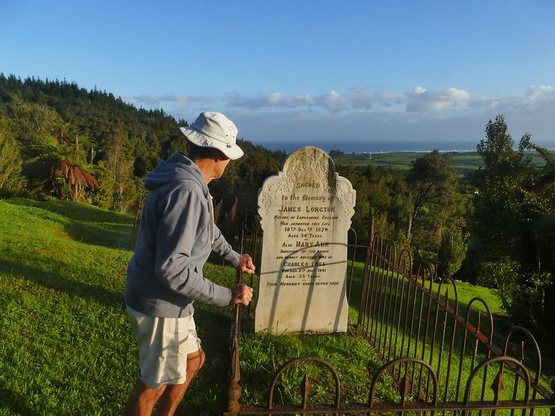 James Longton & Mary Free graves