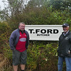 Tim Jowett & Alph Aldersley at Ford Butchery location, Ross