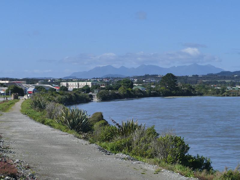 Hokitika River wharf location