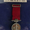 William Ford's fire brigade medal