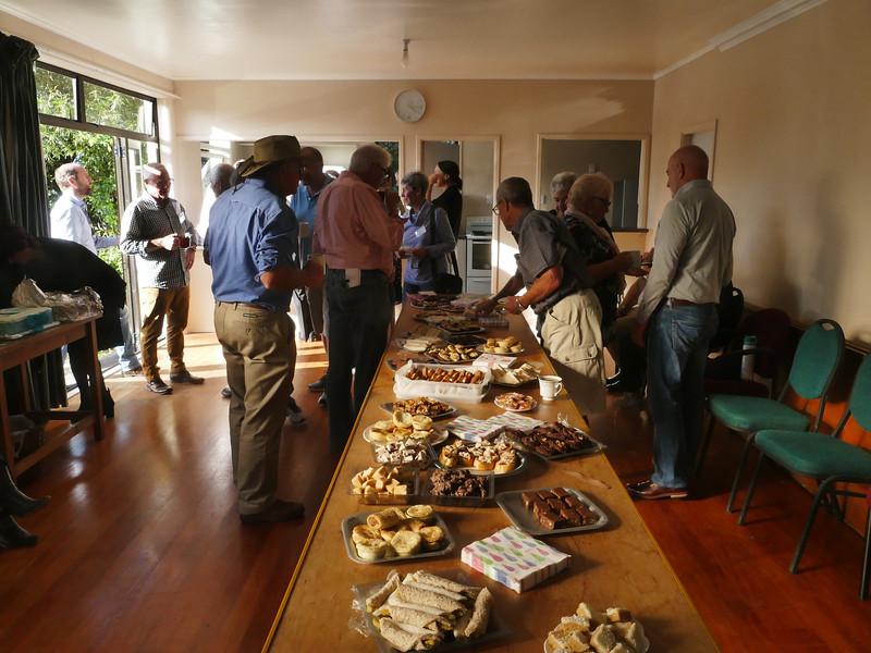 Afternoon tea, Ross Community Hall