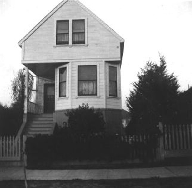 House in Berkeley where James Forster, Sr. was born.
