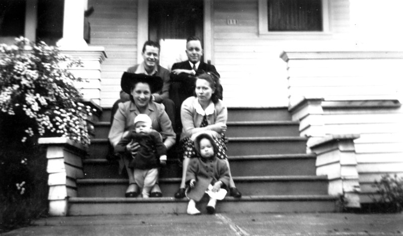 Bill, Elinor, & Billy Lucas, <br /> Jim Jr., Ruth, & Dianna Forster