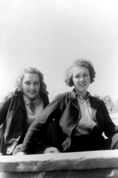 Bettyann Forster & Muriel Forster