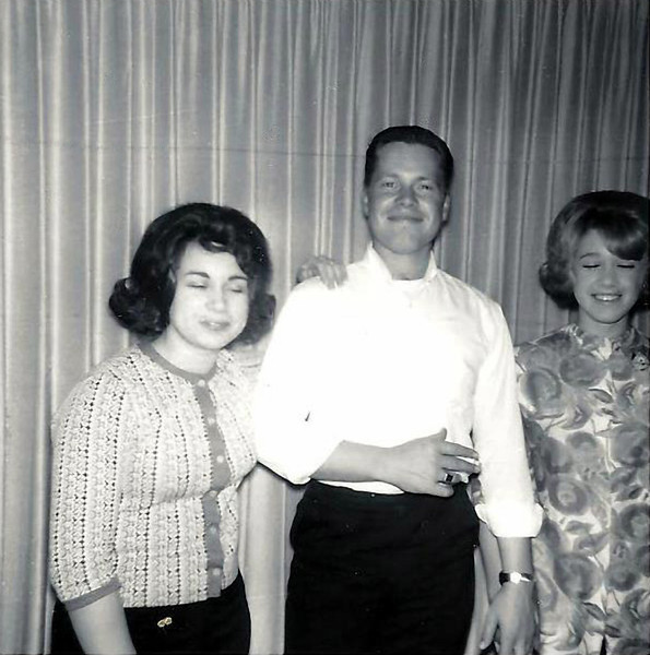 Cathy Laggart, Billy Lucas, & Marie Laggart- January 1964