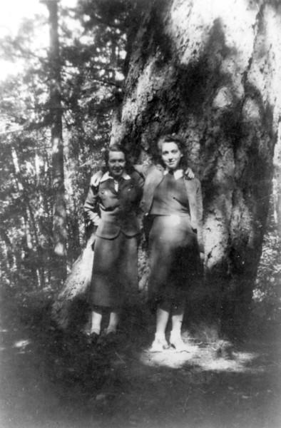 Muriel Forster & Bettyann Forster
