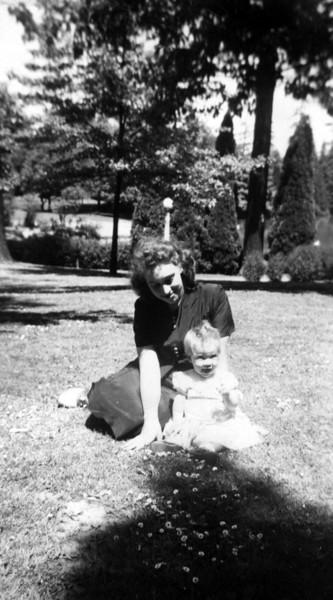 Bettyann Forster Laggart & Marie Laggart