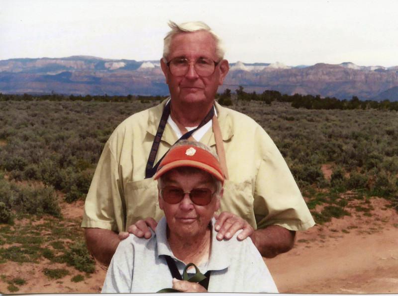 Muriel & Wayne Edwards, March 26, 2003