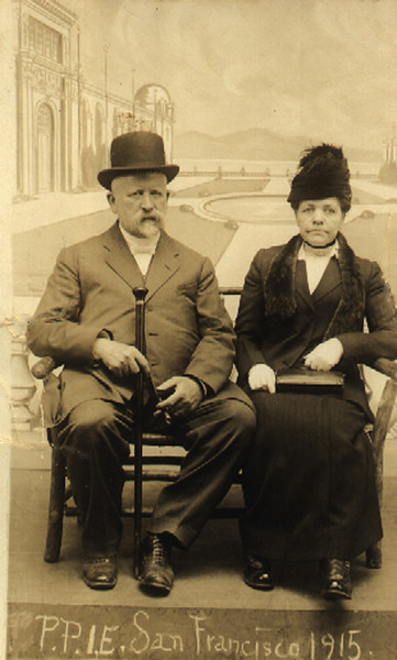 Dr. William Martin Forster & Sarah Maria Ball Forster