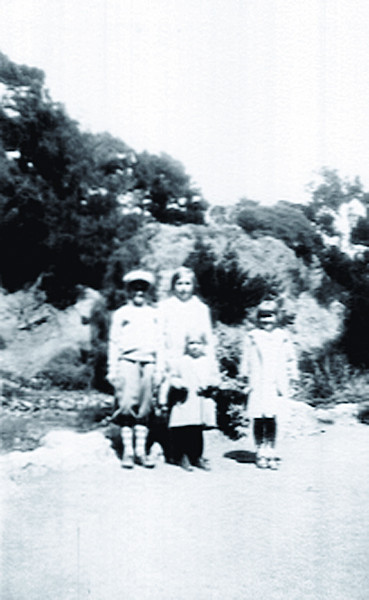 Forster Kids – Left ot Right Jim Jr., Elinor, Bettyann, Muriel