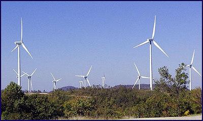 Wind Mills at  Wind Rock.