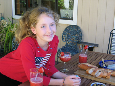Fourth of July party, 2003.