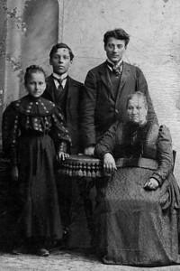 Great Grandma Lah and Her Children