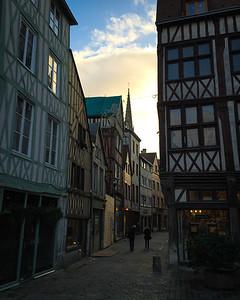 Vieilles maisons normandes, Rouen