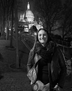 Lea a Montmartre
