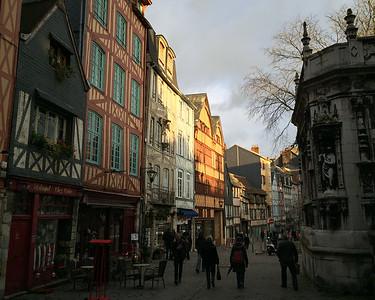 Rue Martainville Rouen