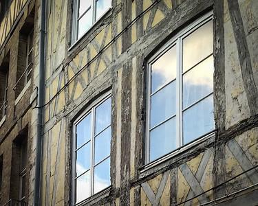 Facade d'une maison normande