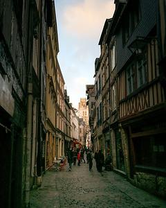 Rue Damiette, Rouen