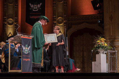 Frances Langara Convocation Ceremony