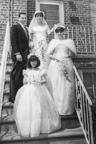Lorraine's Wedding April 1965