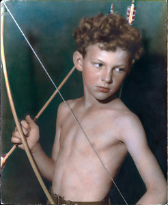 The Young Archer - Mike Frane by his Aunt Margaret Frane repaired
