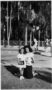 Nikki Jean Buono with Aunt Conjet Buono