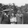 Frank Buono & Julia (Tancorra) Buono with Son Dominick (Nick) Buono<br /> taken 1945