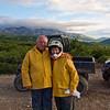 Frank & Gwen on 4-wheeler adventure in Denali - July 2012