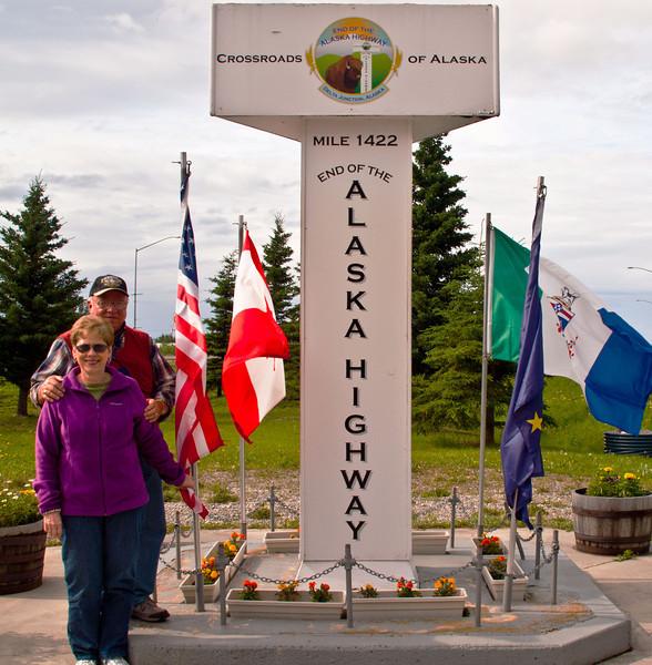Frank & Gwen - Alaska Trip - July 2012