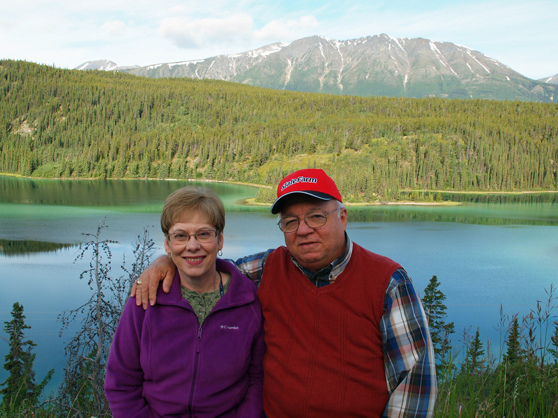 Frank & Gwen -- Emerald Lake Yukon Territory - July 2012