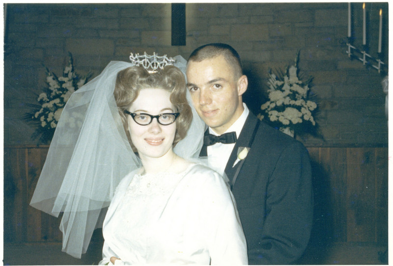 Frank & Gwen Wedding day -- October 2, 1965<br /> Melrose Park, IL