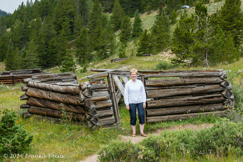 Gwen - Inependence Pass - August 2014