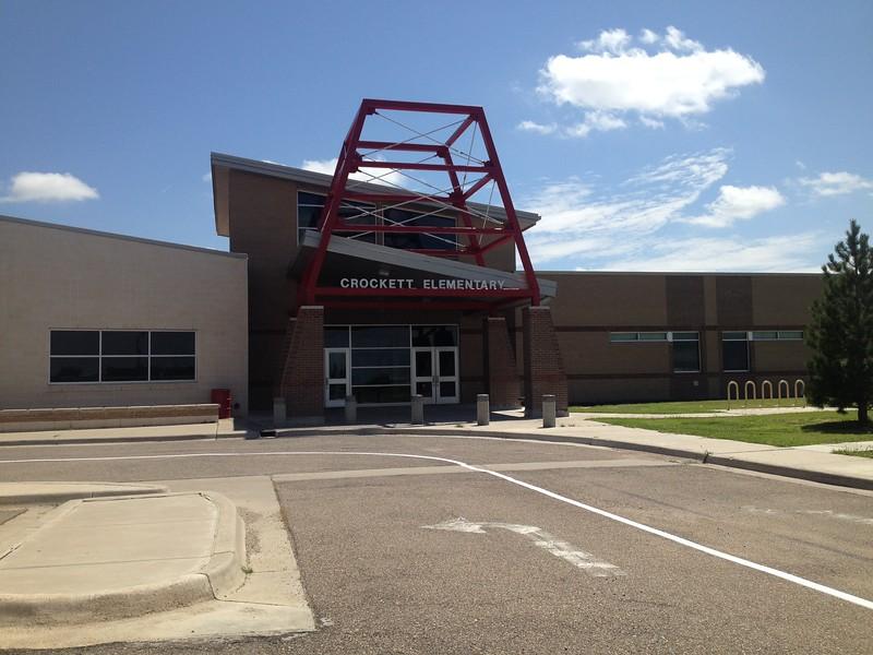 Sandra went to Crockett Elementary in Borger.