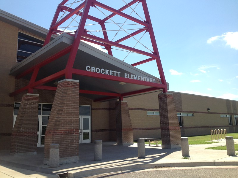Another view of Crockett Elementary