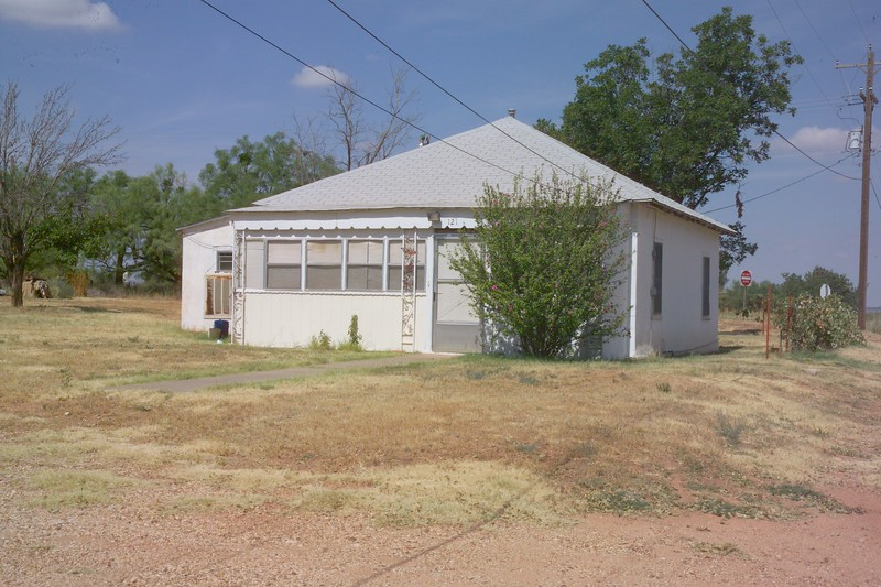The Franklin house in Spur Texas