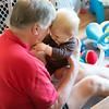 Grampa & Ansel having fun