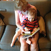 Gramma & Coco Reading a Book