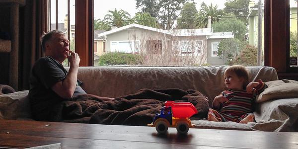 Fred & Ellen Visit, March 2014