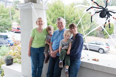 Fred & Ellen Visit, October 2015