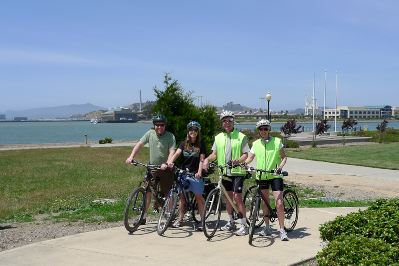 Bicycling Foursome