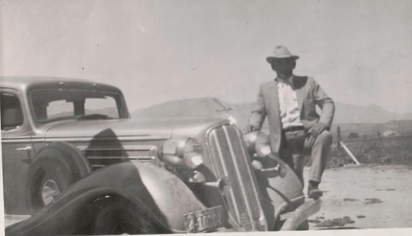 Alfred Washington Murr. Around 1937. Traded the car off for a paint job on the barn. The barn paint job didn't last. Wish we still had the car.
