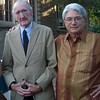 Fred at the wedding of Greg Pavellas and Candy Heyes, here with Ron Pavellas, Los Gatos, June 21, 2013