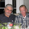 Fred Pape and Ron Pavellas  at the home of Andrea and Ken Slosarik, san Jose, ca 2008