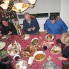 Fred at a holiday dinner, home of Diane Pavellas, San Jose, ca 2002