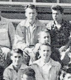 Fred in 11th grade class picture, Berkeley High school