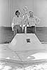 002 1975 Jim Leggett (L) and Phil Sanchez (R - Monument base Designer and construction superintendent)