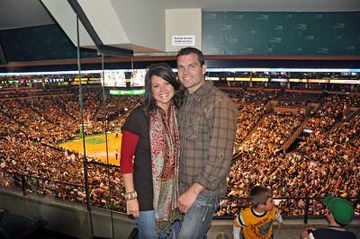 TD Garden at the Celtics Game