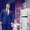 June 17, 1989 - dressed up to attend baptism in Baltimore with Uncle George