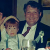 June 17, 1989 - dinner after baptism in Baltimore with Uncle George