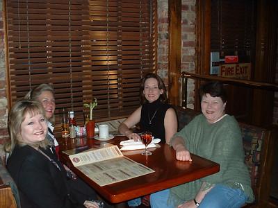 2005 - Girls Nite Out - (L-R); Janet Marston, Cindy (Young) Kyle, Loren (Shipman) Godburn, Michelle (Barton) Ostreich